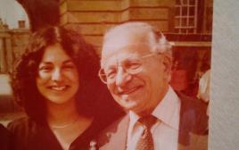 פרופסור א. צבי בראון ובתו אורית