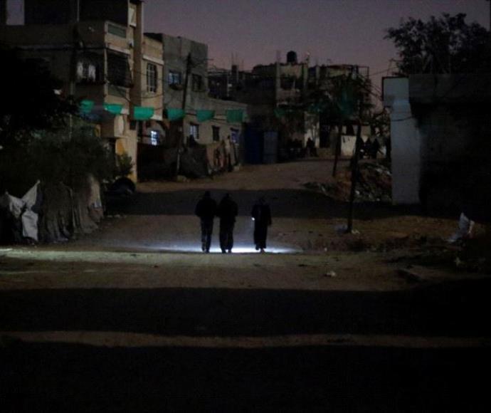 פלסטינים בצפון רצועת עזה