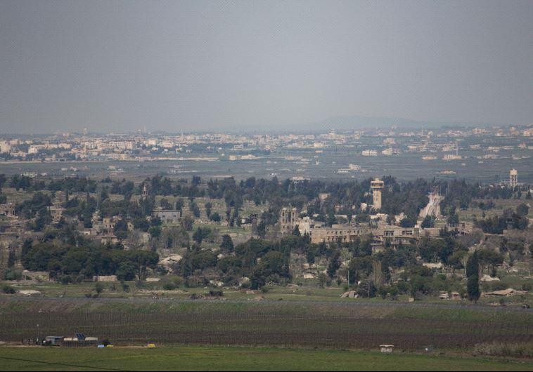 יהיה שקט? גבול סוריה ישראל. צילום: הדס פרוש, פלאש 90