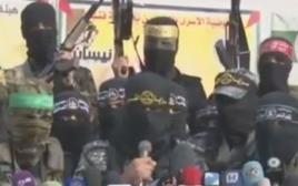 מסיבת עיתונאים של הפלגים הפלסטינים