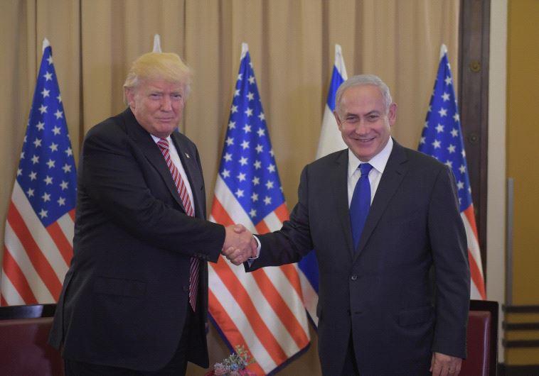 טראמפ עם נתניהו בישראל. צילום: תקשורת ראש הממשלה