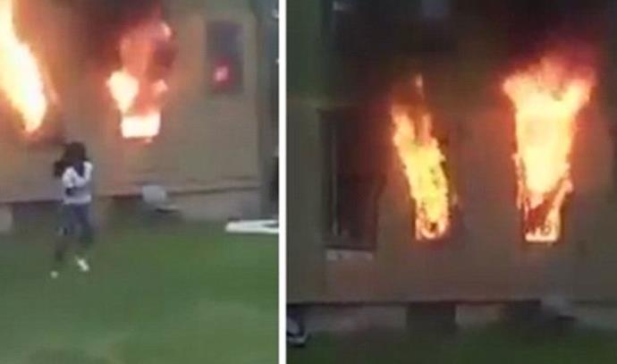 אישה הציתה אש וגרמה למותו של גבר בן 72