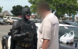 באטמן הגיע לעצור גנב בוולמארט