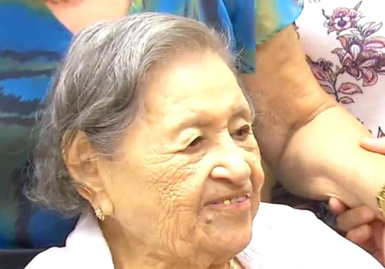 מזל טוב. מריה לופז חגגה יום הולדת 110. טוויטר
