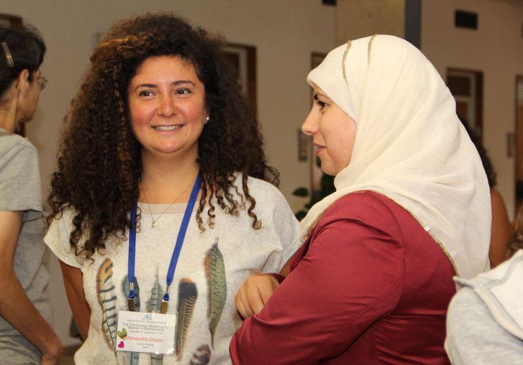"""""""יש פה מכלול גדול של בעיות"""", מתוך הכנס השלישי לנשים במתמטיקה. צילום: דוברות האוני' העברית"""